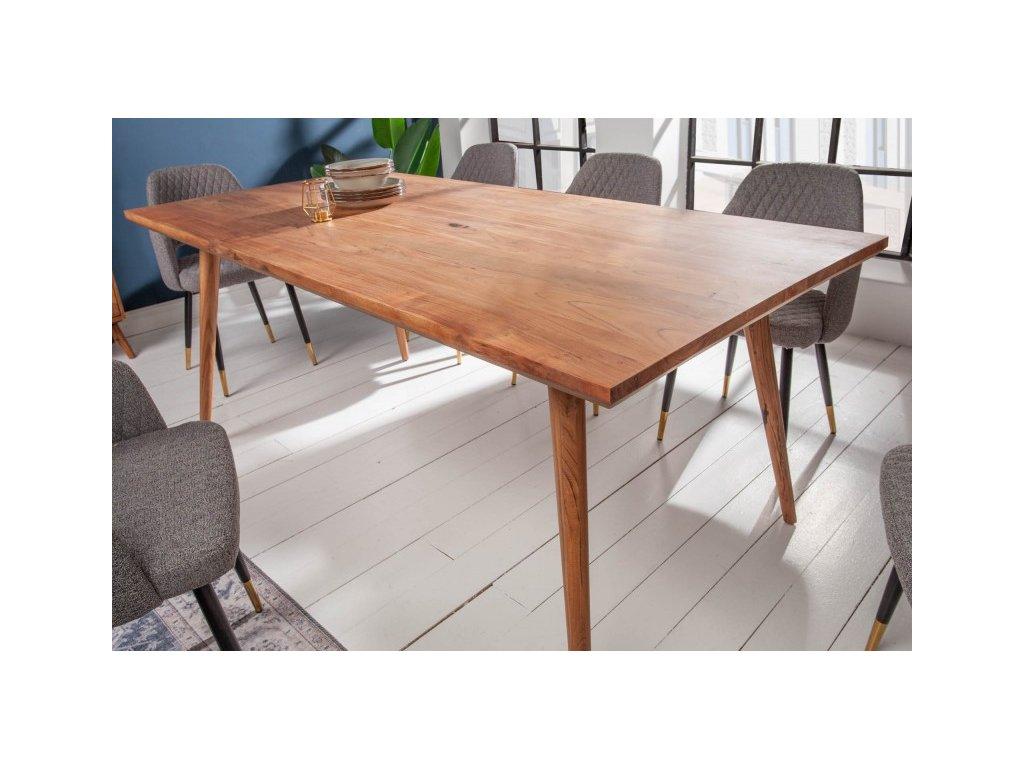 Masivní jídelní stůl Gregory, 160cm 01