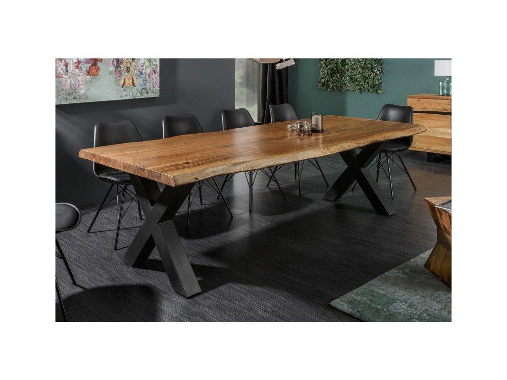 Masivní jídelní stůl Hamish, 300cm 01