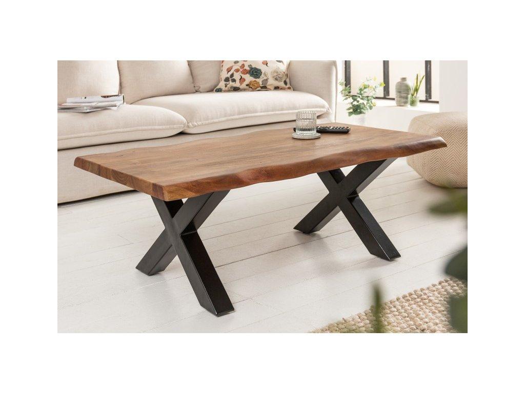 Luxusní konferenční stolek Ian, 110cm 01