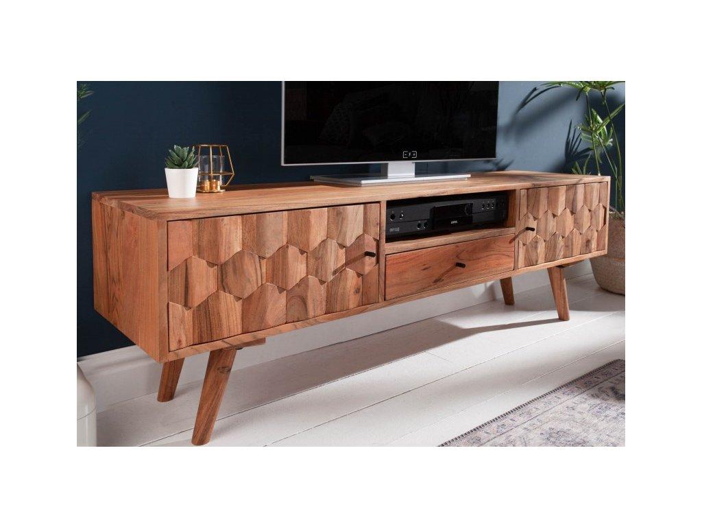 Masivní TV stolek Ivan, 140cm 01
