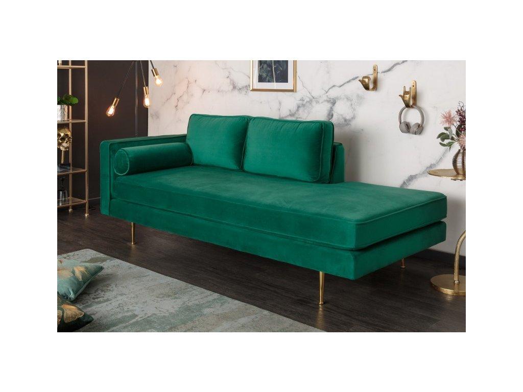Luxusní pohovka Evelyn, zelená 01