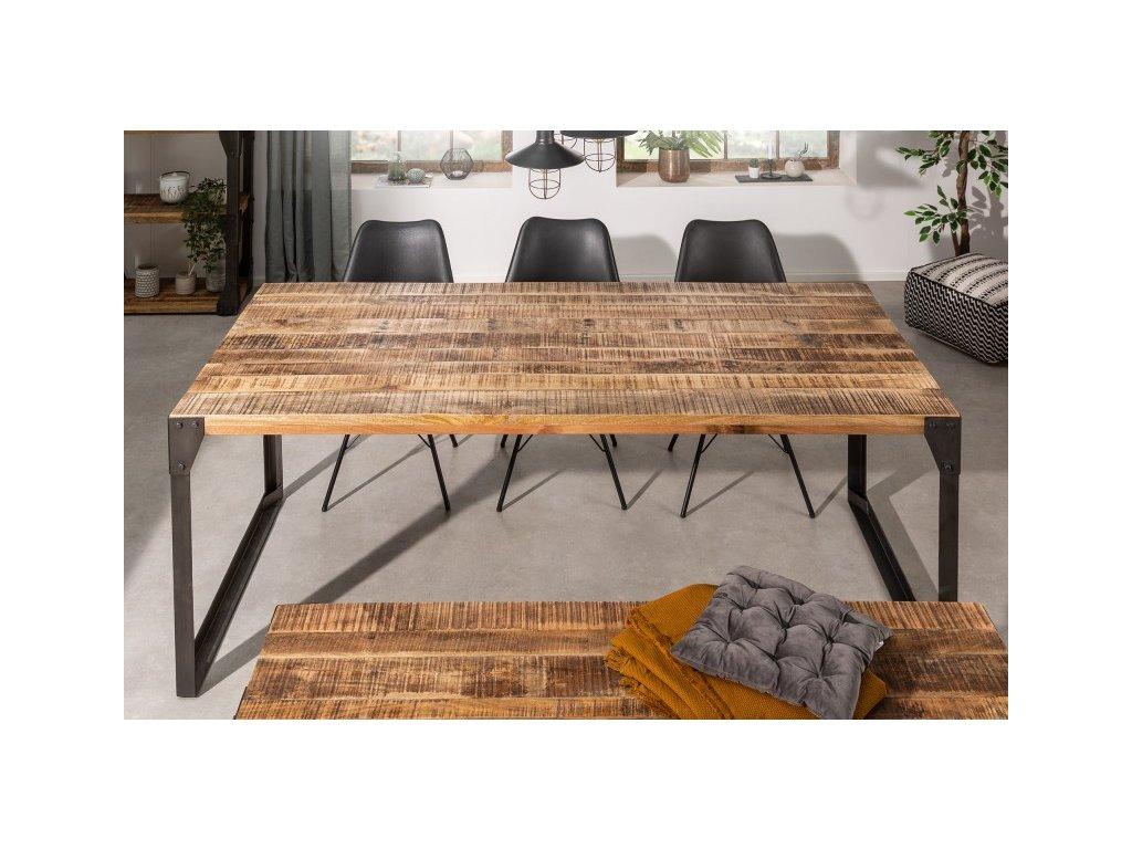 Masivní jídelní stůl Geoffrey, 200cm 01