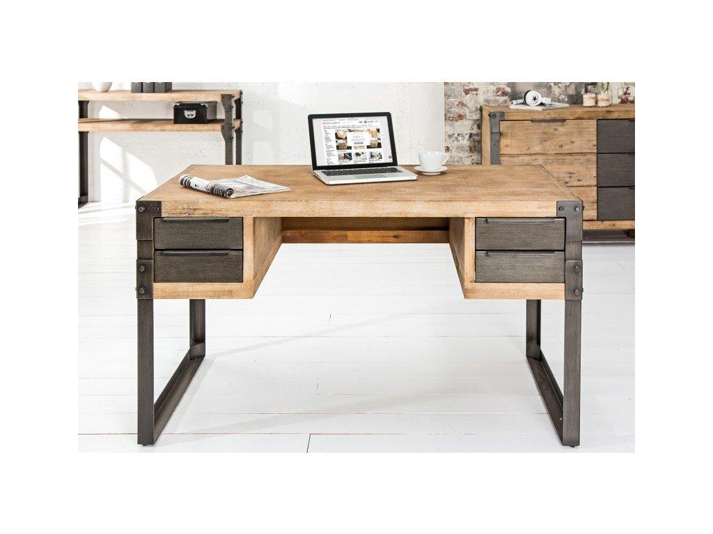 Masivní psací stůl Mark, 135cm 01