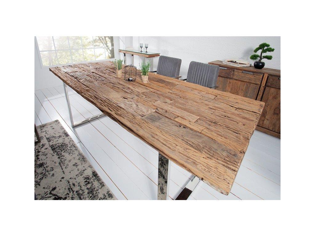 Masivní jídelní stůl Richard, 180cm 01