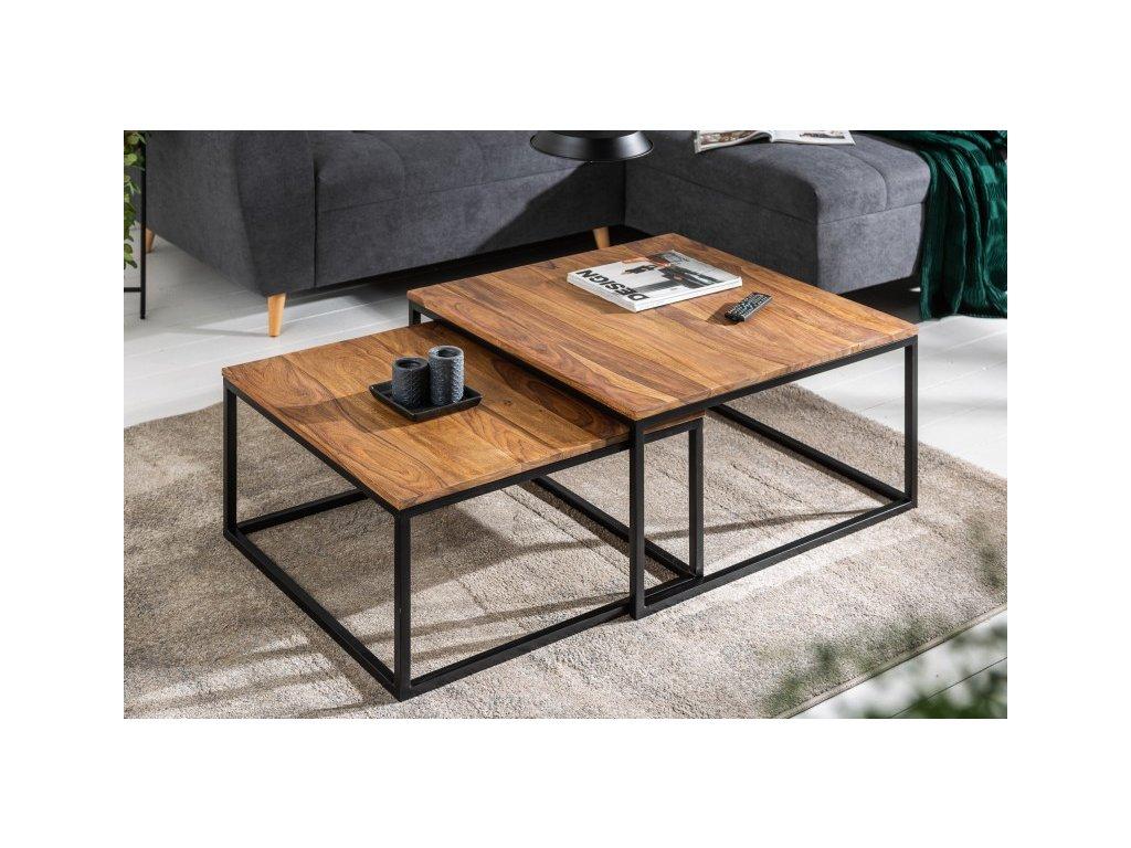 Konferenční stolek Reece, sheesham 01