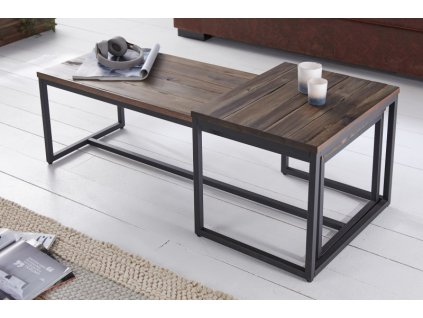 Luxusní konferenční stolek Samuel, 110cm 01