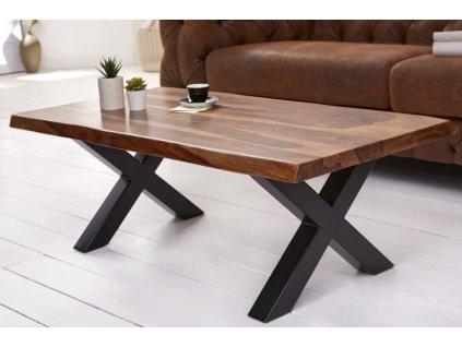 Masivní konferenční stolek Curtis, 110cm 01
