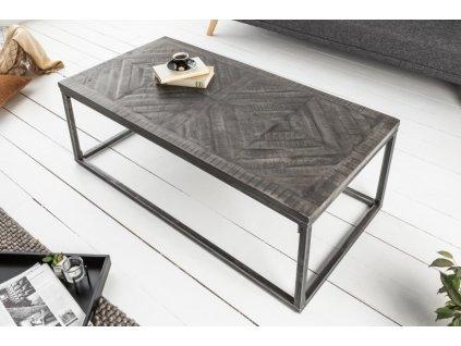 Designový konferenční stolek Leon, šedý 01