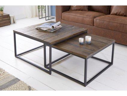 Luxusní konferenční stolek Samuel, 75cm 01