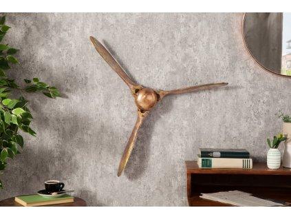 Dekorativní vrtulový šroub Lewis, 60cm měděný 01