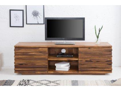 Masivní TV stolek Stacey, přírodní 01