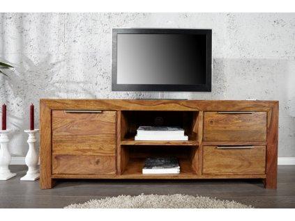 Masivní TV stolek Benjamin, sheesham 01
