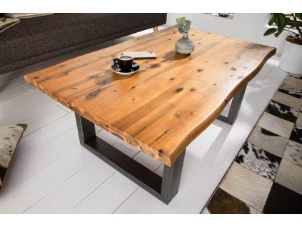 Masivní konferenční stolek Francis, 110cm 01