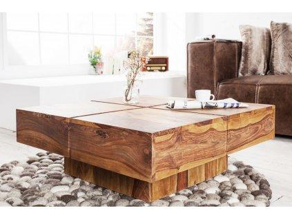 Masivní konferenční stolek Garry, 80cm 01