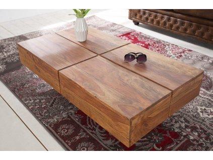 Masivní konferenční stolek Godfrey, 110cm 01