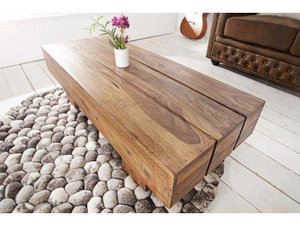 Masivní konferenční stolek Graham, 100cm 01