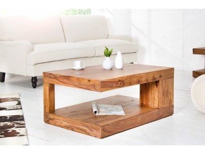 Masivní konferenční stolek Lester, 90cm 01