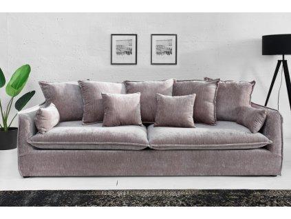 Luxusní pohovka Annie, šedá 01