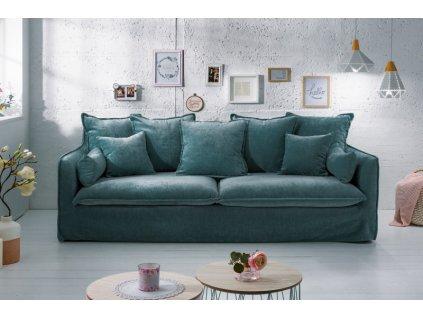 Luxusní pohovka Annie, zelená 01