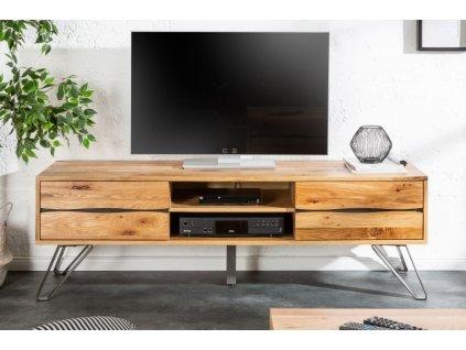 Masivní TV stolek Adolph, 160cm 01