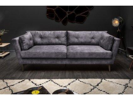 Luxusní pohovka Violet, šedá 01