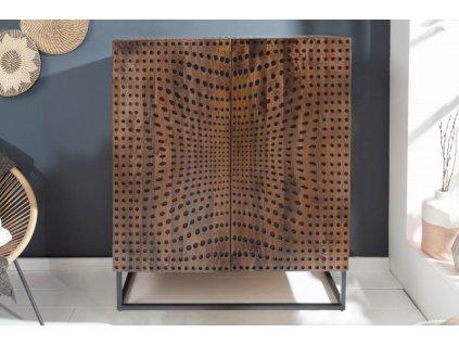 Stylová komoda Bronwen, 120cm 01