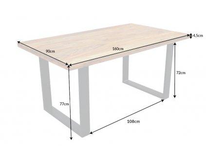 Luxusní jídelní stůl Xavier, 160cm 01