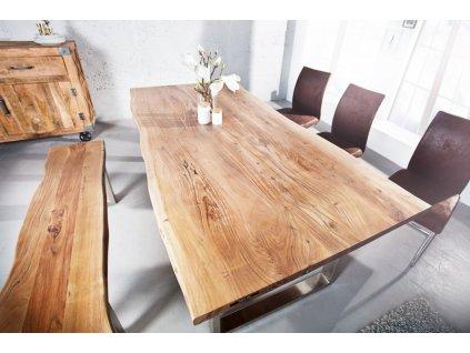 Masivní jídelní stůl Victor, 160cm 01