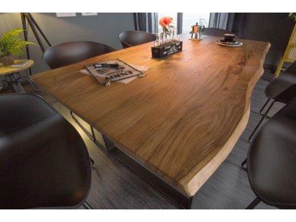 Masivní jídelní stůl Vernon, 160cm 01