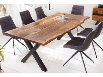 Masivní jídelní stůl Barney, 220cm 01
