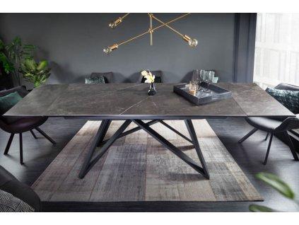 Rozkládací jídelní stůl Barry, grafit 01