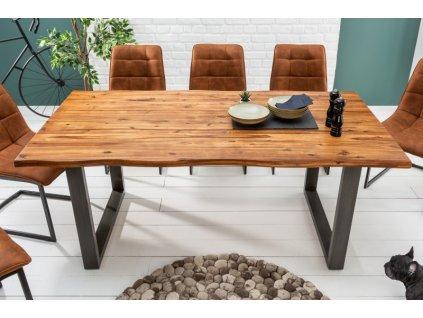 Masivní jídelní stůl Bill, 180cm 01