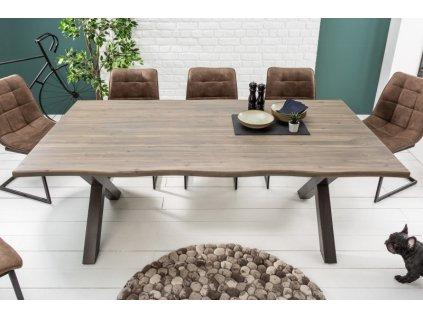 Masivní jídelní stůl Blair, 160cm 01