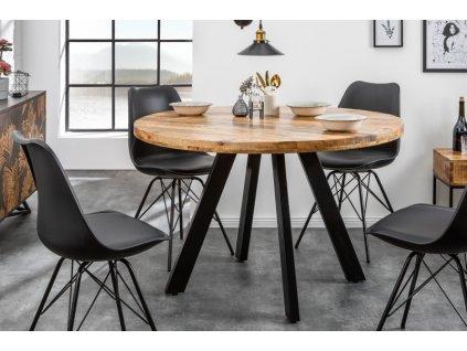Luxusní jídelní stůl Blaise, přírodní 01
