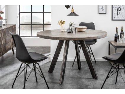 Luxusní jídelní stůl Blaise, šedý 01