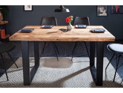 Luxusní jídelní stůl Blake, mango 140cm 01