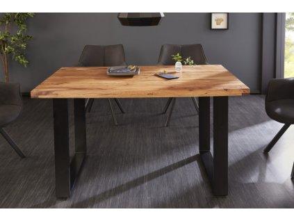 Luxusní jídelní stůl Blake, sheesham 140cm 01