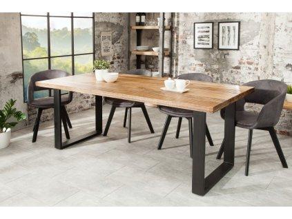 Luxusní jídelní stůl Blane, mango 160cm 01