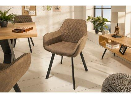 Jídelní židle Caris, světlá 01