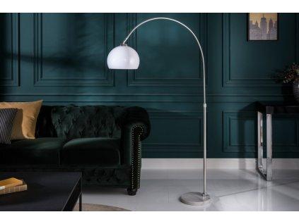 Luxusní stojací lampa Diana, bílá 01