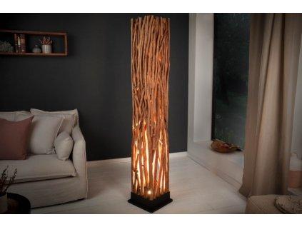 Masivní stojací lampa Donna, 173cm 01