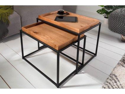 Designový konferenční stolek Colin, světlý 01