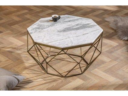 Designový konferenční stolek Conrad, bílý 01