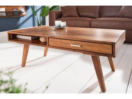 Masivní konferenční stolek Edgar, 100cm 01