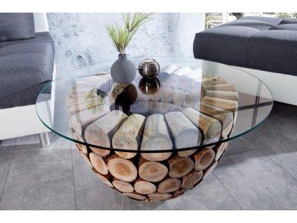 Designový konferenční stolek Elijah, 70cm 01