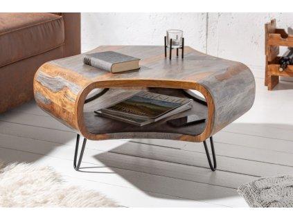Designový konferenční stolek Eric, šedý 01