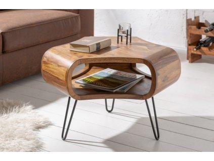 Designový konferenční stolek Eric, přírodní 01