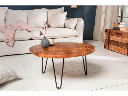 Luxusní konferenční stolek Faris, přírodní 01