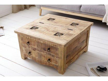 Masivní konferenční stolek Gabriel, 70cm 01