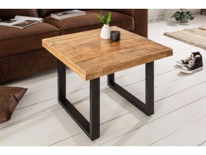 Luxusní konferenční stolek Gareth, mango 60cm 01